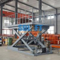 Buy cheap Manual Type Auto Scissor Lift Hydraulic Car Lift Elevator For Car Parking product