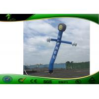 Quality Customized 6M Tall Inflatable Air Dancers / Sky Dancer Double - Triple Stitch for sale