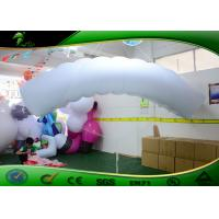 Buy cheap 3M PVC 0.18 Inflatable Air Dancers White Parachute Shapes Model For Advertising product