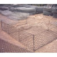 Gabion mesh for water and soil protection