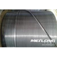 Buy cheap Seamless Stainless Steel Hydraulic Tubing Bright annealed Incoloy Alloy UNS N08800 product