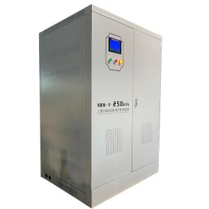 Buy cheap Manufacturer SBW-F-250KVA 43-67 Hz Three Phase Separate Regulation Automatic Compensated Volt Stabiizer product