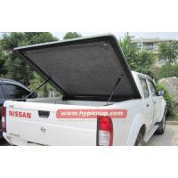 Buy cheap Customized Nissan Navara fiberglass Hard tonneau cover for truck bed protection product