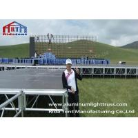 Buy cheap Aluminum Truss Stage, Mobile Stage Platform With CE TUV SGS For Band / Concerts / Events from wholesalers