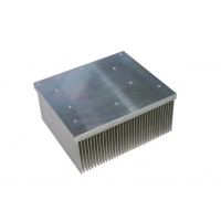 Buy cheap Customized Heatsink Extrusion Profiles Aluminium Radiator High Performance product