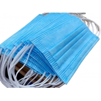 Buy cheap Blue 3 Ply Non Sterilization PPE Earloop Face Masks product