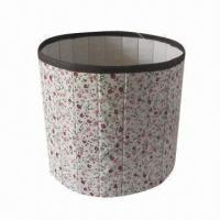 Buy cheap Round Storage Box, Canvas Material, Foldable, New Item, Various Sizes are Available product