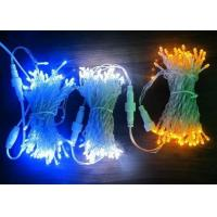 Buy cheap Outdoor LED Xmas String Lights 30M Electrical Blue / Pink / White Decoration product