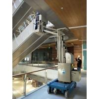 Buy cheap Indoor Compact light weight Aluminum Aerial Work Platform Self Propelled Boom Lift product