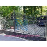 China wrought iron main gate,Forged Steel Gate for Your Home,Fer Forge Gate on sale