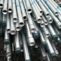 Quality A53 gr.C Ends Threaded Galvanized Steel Pipe With Coupling Connector for sale