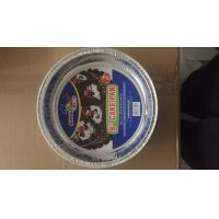 Buy cheap 99.7% Pure Aluminum Foil Pans Tray For Baking Customized Shape Silver Color product