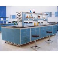 Buy cheap Steel And Wood Lab Tables Work Benches , Central Table For Chemistry / Physical / Biologic Laboratory product