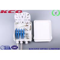 Buy cheap Outdoor Water Proofing 8 Cores Fiber Optic Splitter Terminal Box FTTH FTTB KCO-FDB-8C product