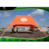 Buy cheap Rust Retardant High Peak Star Shaped Tent / Marquee Tent Approved EN-71 product
