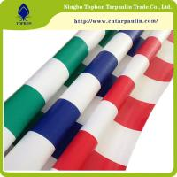 Buy cheap 2016 newest  pvc tarpaulin stripe width awning fabric for carport and tent Tb006 product
