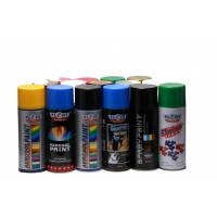 Buy cheap Metallic Green Acrylic Spray Paint Fast Drying Spray Paint For Metal product