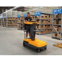 Buy cheap Electric Operated Type Order Picker Forklift Using In Narrow Aisle Space product
