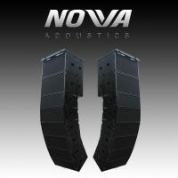 """Buy cheap Dual 10"""" 16Ohm Audio Music Sound System Line Array For Touring / Living Show from wholesalers"""