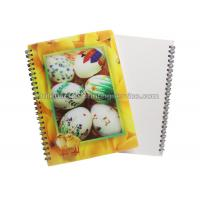 Buy cheap PET / PP Jotter 3D Lenticular Notebook A5/A6 Size UV  Printing for School product