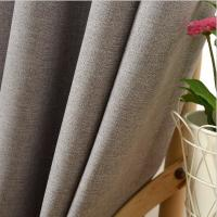 Buy cheap 100% Polyester Home Textile Fabric , Blackout Contemporary Curtain Fabric product