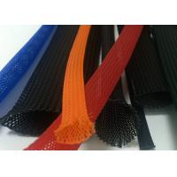 Buy cheap Colorful Braided Electrical Wire Wrap Self - Extinguishing With PET Material product