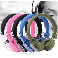 China FHD - 9000 Colorful Bluetooth Wireless Headphones device , bluetooth music headsets on sale