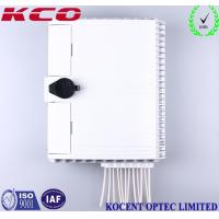 Buy cheap 12 Cores Fiber Optic Terminal Box , Fiber Optic Cable Junction Box 1x8 Splitter product