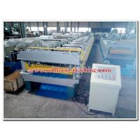 Buy cheap Double Layer Metal Roll Forming Machine for Manufacturing Steel & Aluminium Roof Panels product