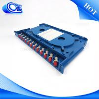 Buy cheap 12 Port Fiber Patch Panel OEM / ODM product
