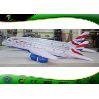 Buy cheap 10ft Inflatable Shapes 747 Aircraft White Inflatable Airplane Swimming Pool Toy product
