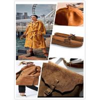 Buy cheap Breathable Faux Suede Fabric , 89% P 11% SP Microfiber Suede Upholstery Fabric product