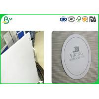 Buy cheap White Uncoated Woodfree Paper , Absorbent Cardboard Paper With Good Absorbency product