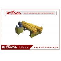 Buy cheap Multifunction All Steel Yellow Hydraulic Stepper Pusher In Clay Brick Making from wholesalers