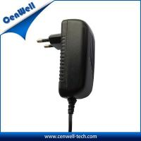 Quality wall mount ce eu plug cenwell 24w ac dc power adapter 24v 1a for sale