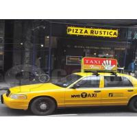 Buy cheap HD Waterproof Taxi Roof LED Display RGB Wireless LED Screen Pixel Pitch P6mm product