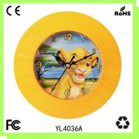 Buy cheap Plastic gift clock/wall clock/square clock/children clock from wholesalers