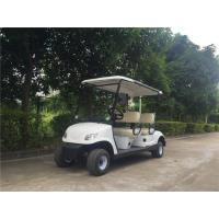 Buy cheap Safety Electric Golf Buggy , Four Seater Electric Car With Free Maintain Acid Battery product