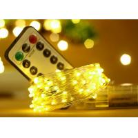 Buy cheap 5M 50 LED Battery Operated String Lights With Remote Control Wedding Decorations product