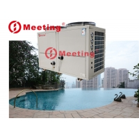 Buy cheap Swim pool water cooling with titanium heat exchanger, above ground swimming pool heat pump,CE Certificate 26kw product