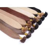 Buy cheap 10A Pre Bonded Nail U Tip Remy Human Hair Extensions Without Knots Or Lice product