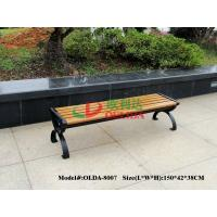 Buy cheap Durable Wood Plastic Composite Bench 150 * 38 * 38.5cm No Contraction / Expansion product