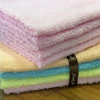 Buy cheap Coloured Cotton Ribbon Towel Gift Sets product