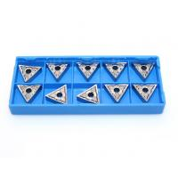 Buy cheap TNMG160404 Triangle Carbide Inserts , YD101 Grade Cnc Turning Tools Inserts product
