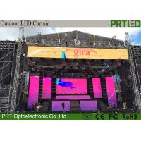 Buy cheap Light Weight LED Curtain Screen P10.4 Full Color 500*1000mm Rental Or Fixed product
