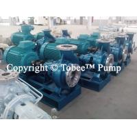 Buy cheap Tobee™ TIH Concentrated sulfuric acid pump product