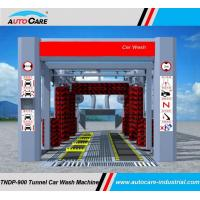 Buy cheap Dual belt conveyor tunnel car washing machine to America/ Automatic tunnel car washing system with stainless frame product