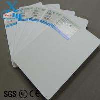 China 3d sign board material pvc foam board 5mm flexible a4 inkjet printable pvc plastic sheet outdoor plastic poster board on sale