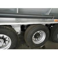 China 3 Axle Aluminum Fuel Tank Semi Trailer Truck Stainless Steel Oil Tank Truck on sale