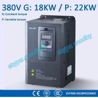 18kw/22kw motor pump CNC Variable-Frequency Drive VFD AC-DC-AC 50Hz/60Hz AC drive Low Voltage frequency converter